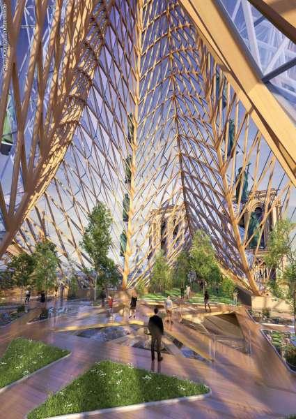 بتصميم مستقبلي وأخضر.. هل هذا ما ستبدو عليه كاتدرائية نوتردام قريباً بباريس؟