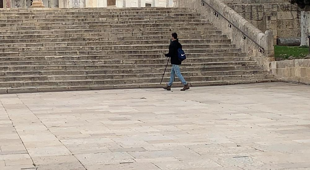 اخذ قياسات المسجد الاقصى.. خطوة خطيرة تمهد لتقسيمه زمانيا ومكانيا - صور