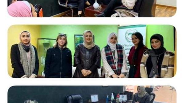 اتحاد قيادات المرأة العربية فرع الاردن يؤسس فريق شبابي تطوعي