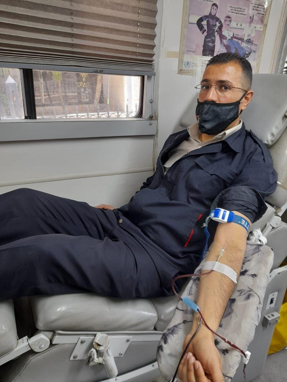 الجمارك الأردنية تنظم حملة للتبرع بالدم