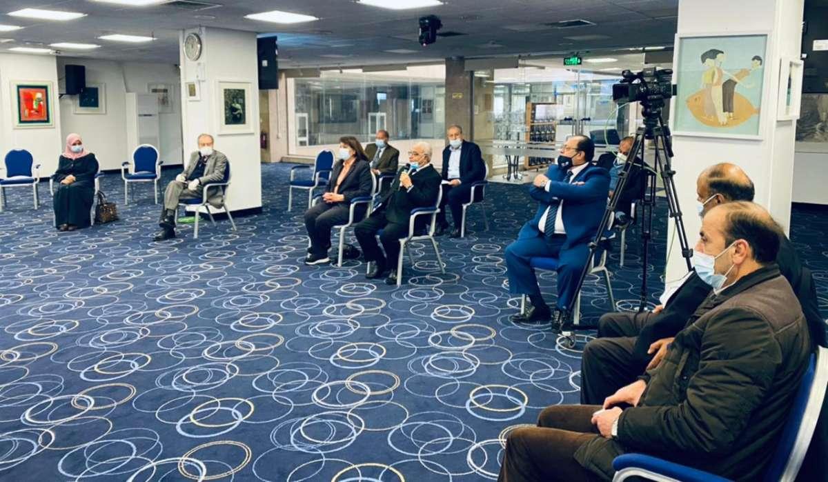 جمعية الشفافية الأردنية تعقد ندوة بحضور العبادي ومحافظة و بدارين والعدوان للحديث عن ازمة كورونا - صور
