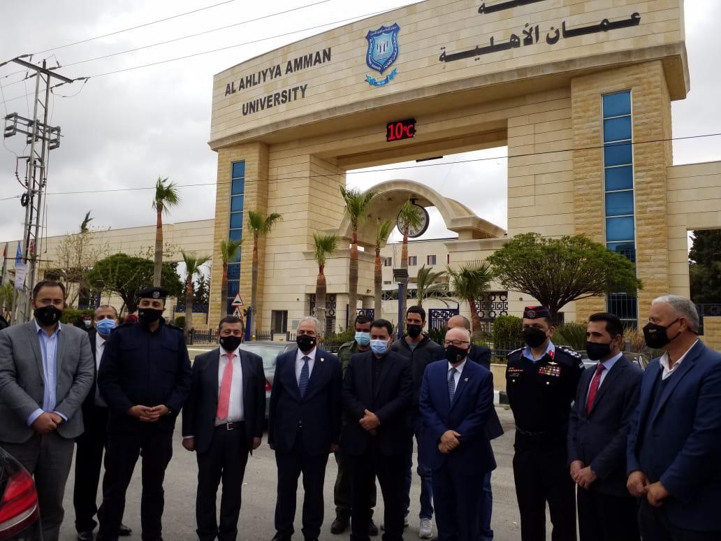 جامعة عمان الأهلية تشارك محافظة البلقاء الاحتفال الرئيسي بمئوية تأسيس الدولة الأردنية