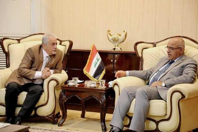 وزيرالتعليم العالي العراقي يستقبل في بغداد رئيس جامعة عمان الأهلية والوفد المرافق