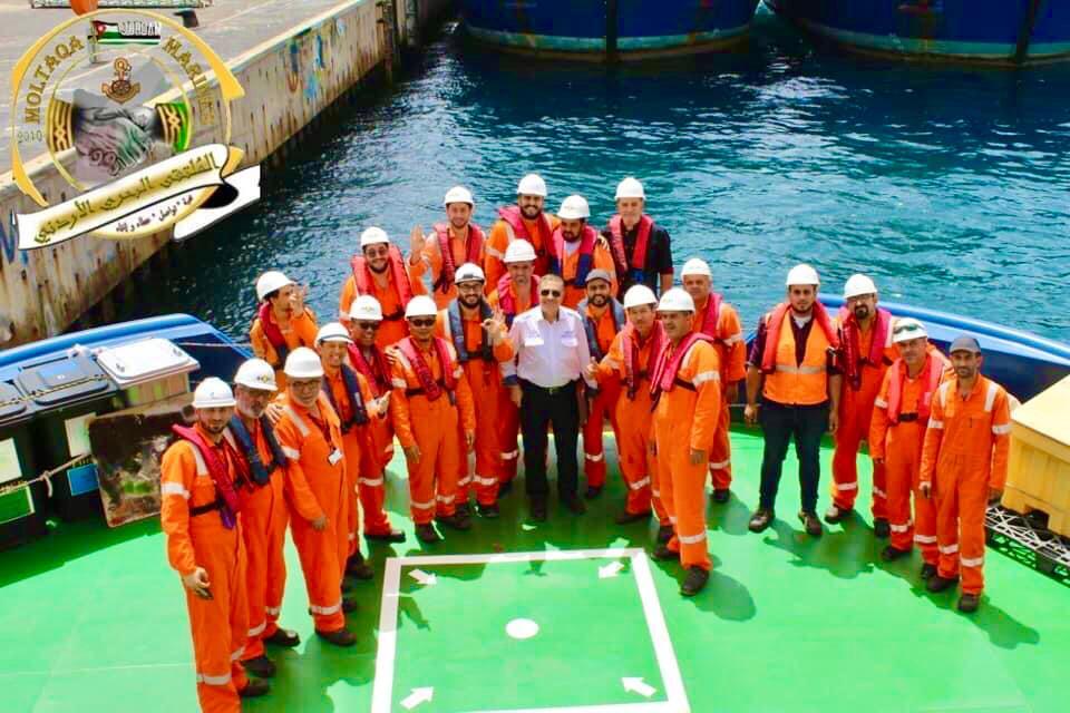 الربان الأردني خالد الصمادي مديرا للإرشاد البحري لموانئ دبي العالمية