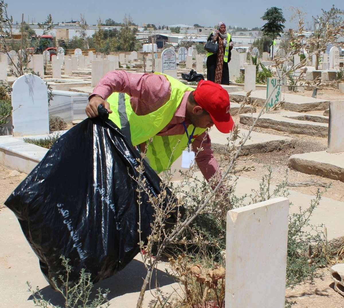 اكرموا موتانا في مقبرة سحاب الاسلامية