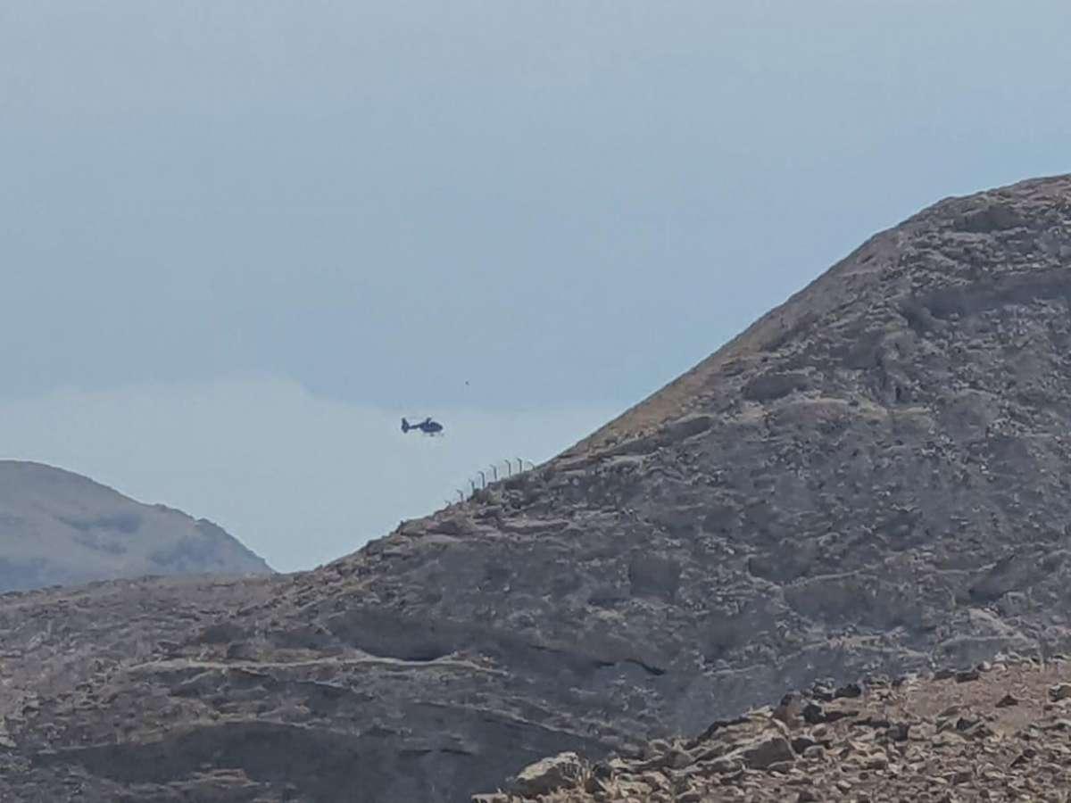 الأمن العام : طائرة عامودية تشارك في البحث عن مواطن انقطع به الاتصال في محافظة مادبا