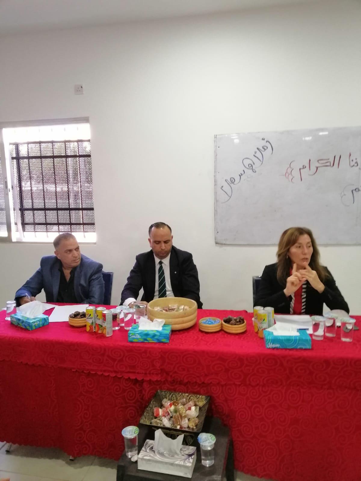 الشورى ينظم لقاء مع لجنتي المرأة والشباب في اللجنة الملكية