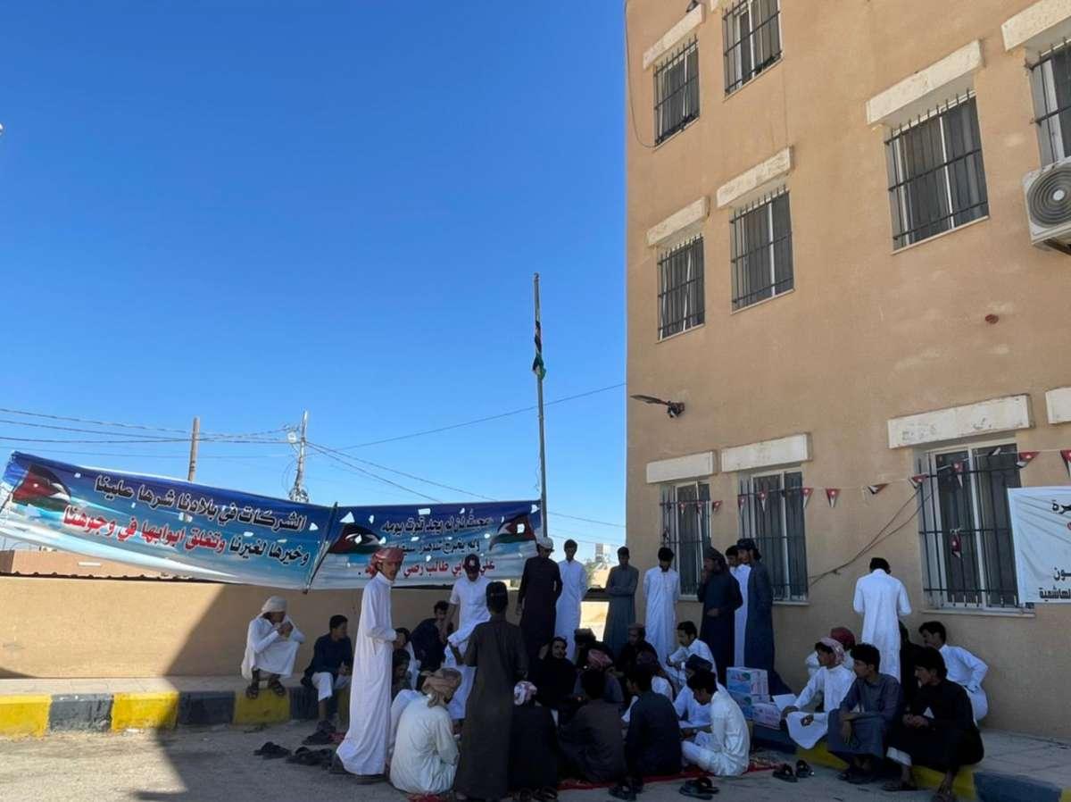 متعطلو الجفر: مستمرون باعتصامنا المفتوح واجراءات تصعيدية خلال ايام
