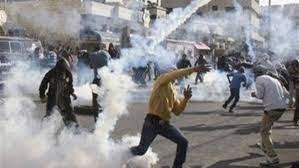 اصابات بالاختناق خلال مواجهات مع الاحتلال الاسرائيلي جنوب جنين